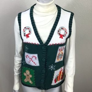 3/$25 Holiday Editions Christmas Sweater Vest